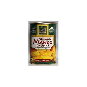 Native Forest Mango Chunks, Organic - 4x6x14 ozs.