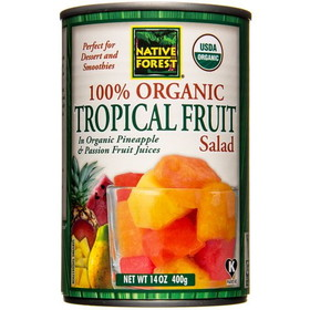 Native Forest Tropical Fruit Salad, Organic, GY695, Price/14 ozs
