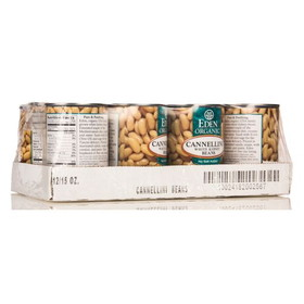 Eden Foods Cannellini (white kidney) Beans, Organic, GY706, Price/12 x 15 ozs