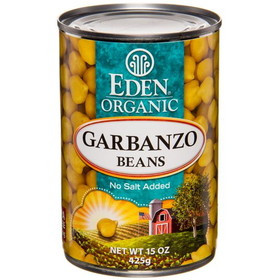Eden Foods Garbanzo Beans (chick peas), Organic - 15 ozs.