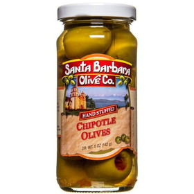 Santa Barbara Chipotle Stuffed Green Olives, GY795, Price/5 ozs