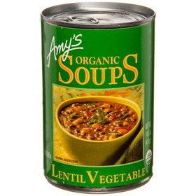 Amy's Lentil Vegetable Soup, Organic - 14.5 ozs.