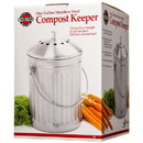 Norpro Compost Keeper, Stainless Steel, HA131
