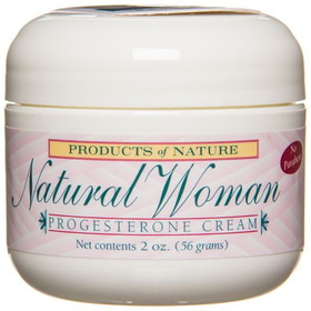 Products of Nature Natural Woman Progesterone Cream - 2 ozs.