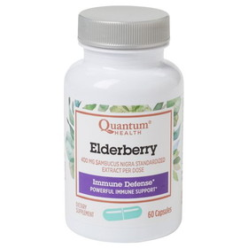 Quantum Elderberry Extract Caps - 60 ct.