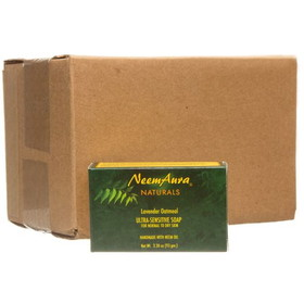 Neem Aura Handmade Soap, Lavender & Oatmeal, HB577, Price/12 x 3.30 ozs