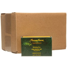 Neem Aura Refreshing Citrus Soap - 12 x 3.75 ozs