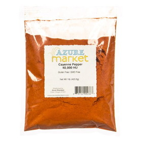 Azure Standard Cayenne Pepper 40,000 HU, HS030, Price/1 lb