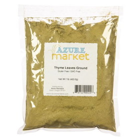 Oregon Spice Thyme Leaves, Powder - 1 lb.