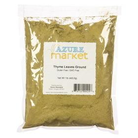 Oregon Spice Thyme Leaves, Powder - 1 lb.