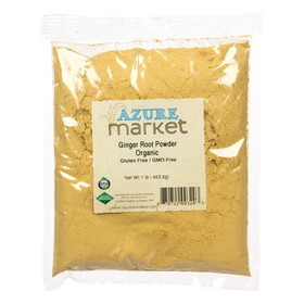 Oregon Spice Ginger Root Powder, Organic - 1 lb.