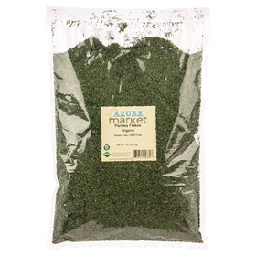 Azure Farm Parsley Flakes, Organic, HS433, Price/1 lb