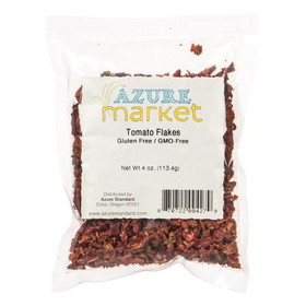 Oregon Spice Tomato Flakes, Dehydrated - 4 ozs.