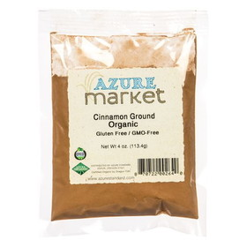 Oregon Spice Cinnamon, Ground, Organic - 4 ozs.