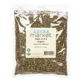 Azure Farm Basil, Organic, HS596, Price/4 ozs