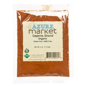 Oregon Spice Cayenne, Ground, Organic - 4 ozs.
