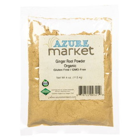 Oregon Spice Ginger Root Powder, Organic - 4 ozs.