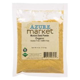 Oregon Spice Mustard Seed Powder, Organic - 4 ozs.