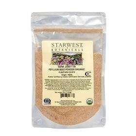Starwest Psyllium Seed Powder, Organic, HS693, Price/4 ozs