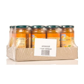 Bionaturae Apricot Fruit Spread, Organic - 12 x 9 ozs.