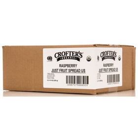Crofter's Raspberry Just Fruit Spread, Organic - 12 x 10 ozs.