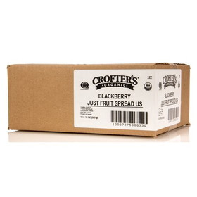 Crofter's Blackberry Just Fruit Spread, Organic, JC066, Price/12 x 10 ozs