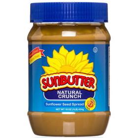 Sun Gold SunButter, Crunchy, Natural, NB078, Price/16 ozs