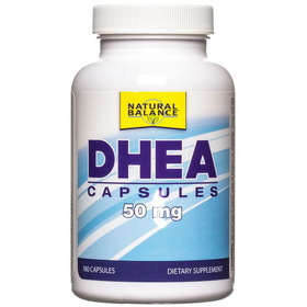 Natural Balance DHEA 50 mg, NS268, Price/180 caps