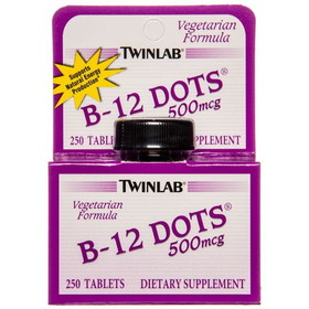 Twin Lab B-12 Dots - 250 ct.