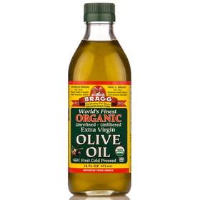 Bragg's Olive Oil, Extra Virgin, Organic - 16 ozs.