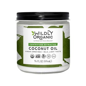 Wilderness Family Naturals Organic Coconut Oil(Centrifuged) - 16 ozs.