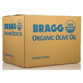 Bragg's Olive Oil, Quart, Organic, OL101, Price/12 x 32 ozs