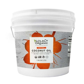 Wilderness Family Naturals Coconut Oil, Expeller Pressed - 1 gallon