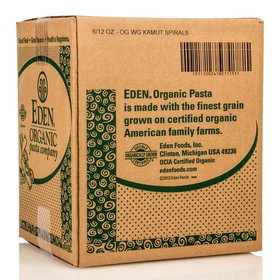 Eden Foods Kamut Spirals, Organic, PA122, Price/6 x 12 ozs