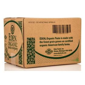 Eden Foods Vegetable Spirals, Organic - 6 x 12 ozs.