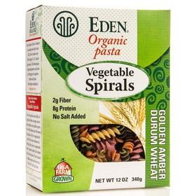 Eden Foods Vegetable Spirals, Organic, PA134, Price/12 ozs