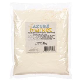 Azure Standard Popcorn Seasoning, White Cheddar, QS008, Price/1 lb