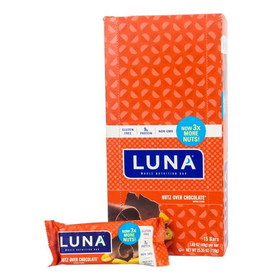 Luna Bar Nutz Over Chocolate - 15 x 1.69 ozs.