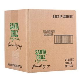 Santa Cruz Chocolate Syrup, Organic, SC190, Price/12 x 15.5 ozs
