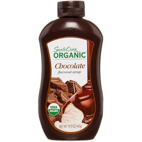 Santa Cruz Chocolate Syrup, Organic, SC191, Price/15.5 ozs