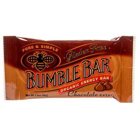 BumbleBar Chocolate Crisp, Organic - 3 x 1.4 ozs.