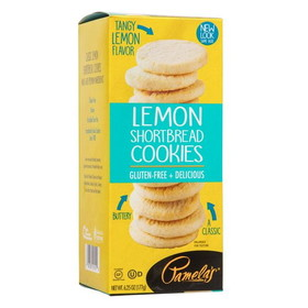 Pamela's Lemon Shortbread Cookies - 7.25 ozs.