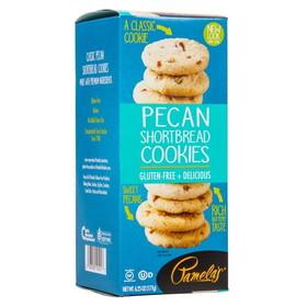 Pamela's Pecan Shortbread Cookies - 7.25 ozs.