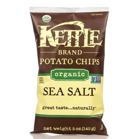 Kettle Foods Potato Chips, Lightly Salted, Organic - 5 ozs.