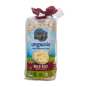 Lundberg Rice Cakes, Wild, Salted, Organic, Gluten-Free, SN047, Price/8.5 ozs