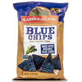 Garden of Eatin' Party Size Blue Tortilla Chips - 16 ozs.