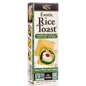 Edward & Sons Rice Toast, Jasmine Rice & Spring Onion, SN209, Price/2.25 ozs