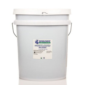 Wholesome Sweeteners Molasses, Organic, Fair Trade, SW121, Price/5 gallons