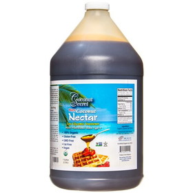 Coconut Secret Coconut Nectar, Raw, Organic, SW151, Price/1 gallon