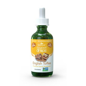 Sweet Leaf Stevia Clear Liquid, English Toffee - 2 ozs.